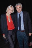 Fashion designer Vanessa Bruno and art dealer Franck Elbaz attend 'Bal Jaune 2012' organized by the Ricard Corporate Foundation for Contemporary Arts...