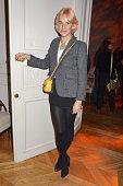 Fashion designer Vanessa Bruno attends 'Le Bal Jaune 2015' Dinner Party At Hotel Salomon de Rothschild during FIAC on October 23 2015 in Paris France