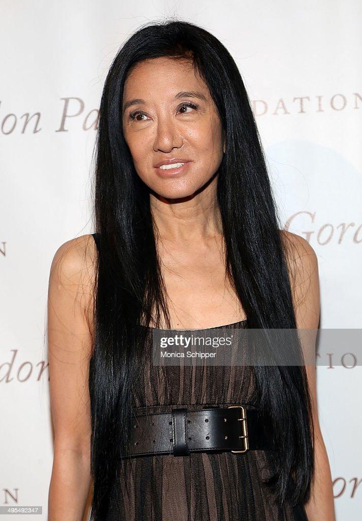 Fashion designer Vera Wang attends 2014 Gordon Parks Foundation awards dinner at Cipriani Wall Street on June 3, 2014 in New York City.