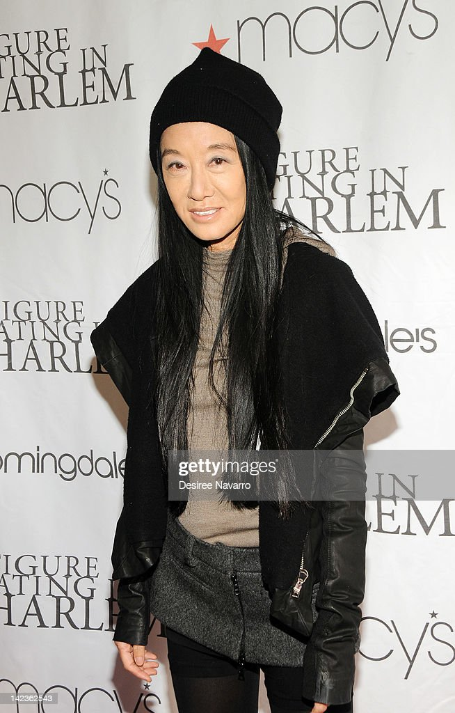 Fashion designer Vera Wang attends the 2012 Skating with the Stars gala at the Wollman Rink - Central Park on April 2, 2012 in New York City.