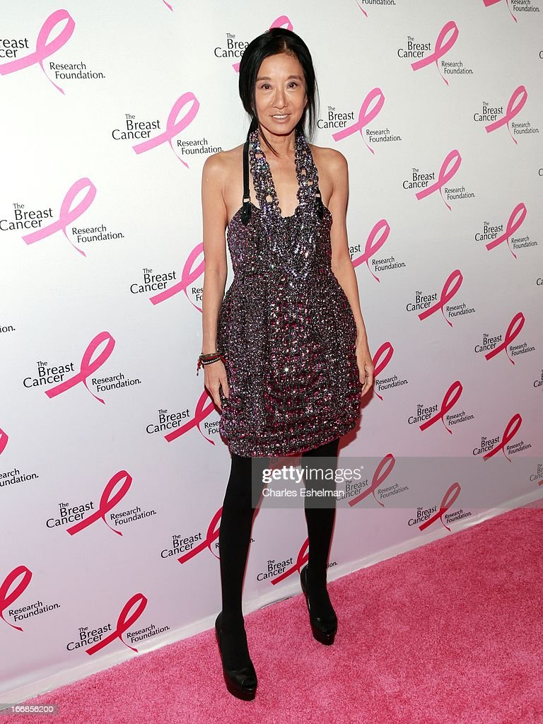Fashion designer Vera Wang attends The Breast Cancer Research Foundation's 2013 Hot Pink Party at The Waldorf=Astoria on April 17, 2013 in New York City.