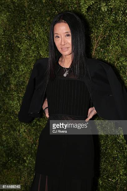 Fashion designer Vera Wang attends the 'Franca Chaos and Creation' New York Screening at Metrograph on October 13 2016 in New York City