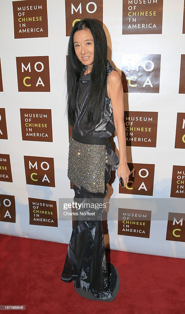 Fashion designer Vera Wang attends the Museum of Chinese in America's Annual Legacy awards dinner at Cipriani Wall Street on December 3, 2012 in New York City.