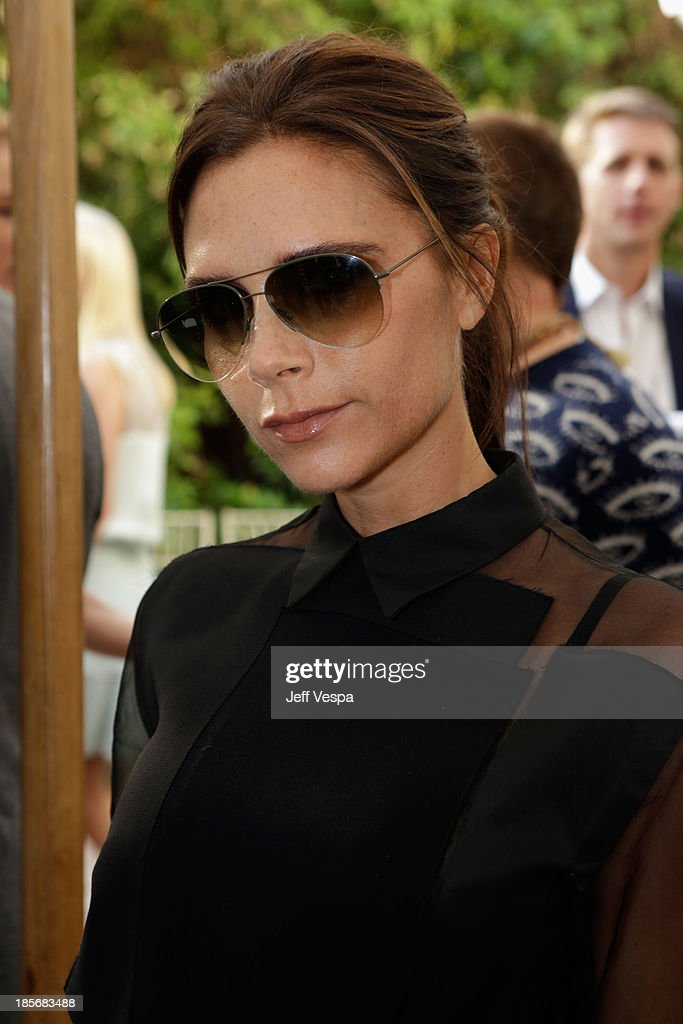 Fashion designer <a gi-track='captionPersonalityLinkClicked' href=/galleries/search?phrase=Victoria+Beckham&family=editorial&specificpeople=161100 ng-click='$event.stopPropagation()'>Victoria Beckham</a> attends the 2013 CFDA/Vogue Fashion Fund Event Presented by thecorner.com and Supported by Audi, Living Proof, and MAC Cosmetics at the Chateau Marmont on October 23, 2013 in Los Angeles, California.