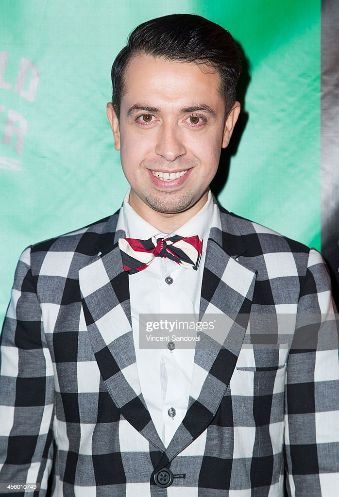 Fashion designer Viktor Luna attends the World of Wonder's 1st Annual WOWie Awards at The Globe Theatre on December 12, 2013 in Universal City, California.
