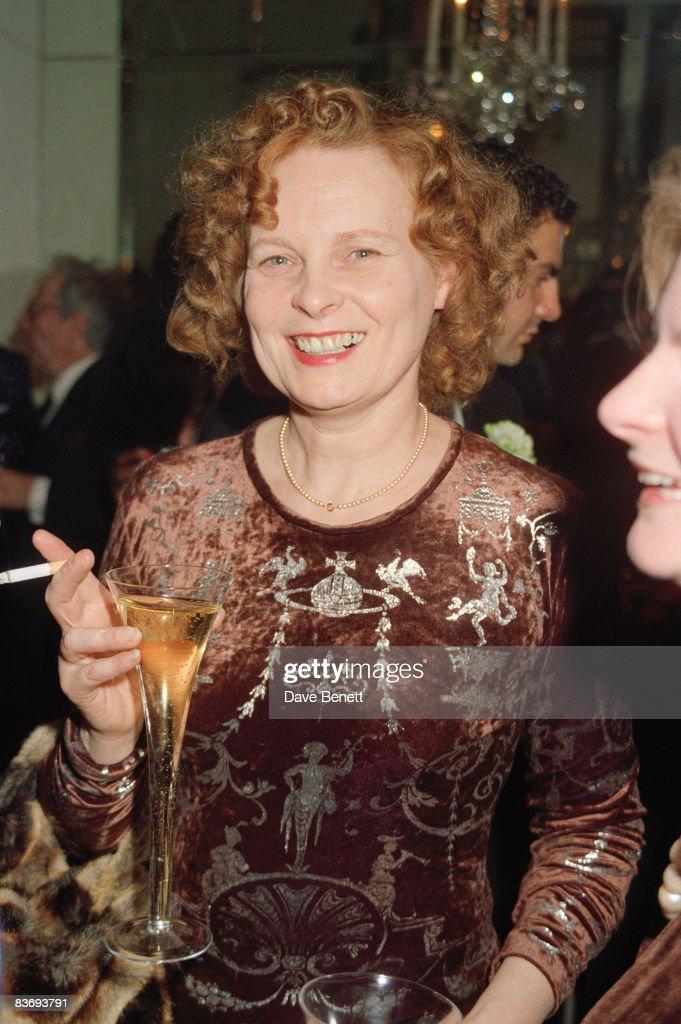Fashion designer Vivienne Westwood circa 1990