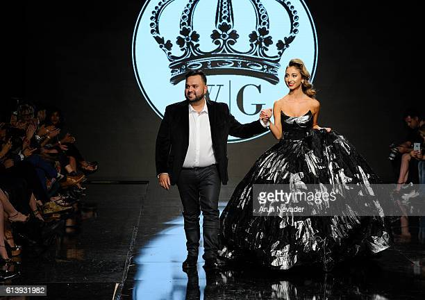 Fashion designer Willfredo Gerardo at Art Hearts Fashion Los Angeles Fashion Week presented by AIDS Healthcare Foundation on October 10 2016 in Los...