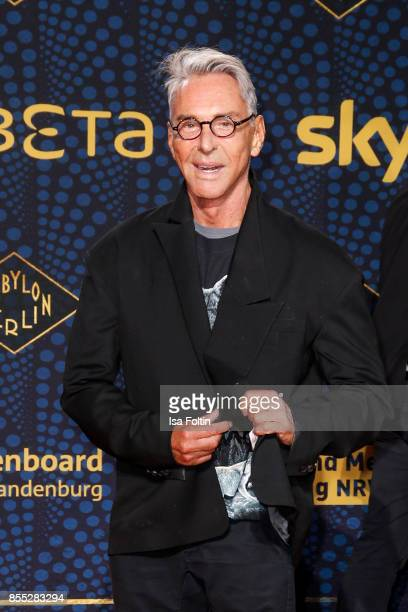Fashion Designer Wolfgang Joop attends the 'Babylon Berlin' Premiere at Berlin Ensemble on September 28 2017 in Berlin Germany