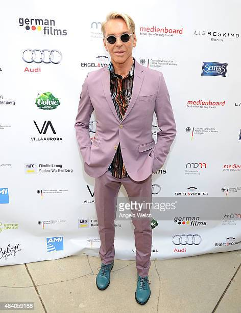 Fashion designer Wolfgang Joop attends the German Films and the Consulate General of the Federal Republic Of Germany's German Oscar nominees...