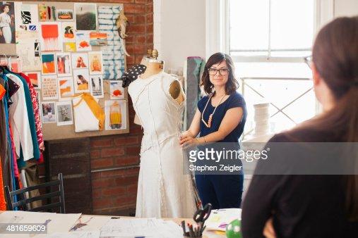 Fashion designer working conditions