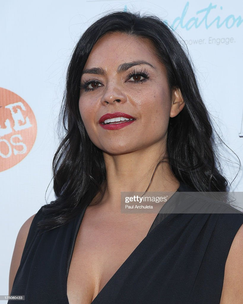 Fashion Designer Xochitl Medina attends the Women Like Us Foundation's One Girl At A Time fundraiser at The Aventine Hollywood on July 30, 2013 in Hollywood, California.