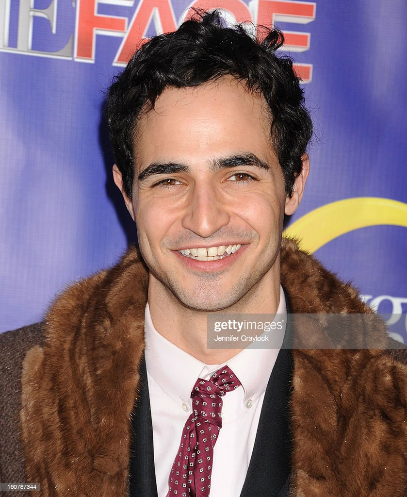 Fashion designer Zac Posen attends 'The Face' Series Premiere at Marquee New York on February 5, 2013 in New York City.