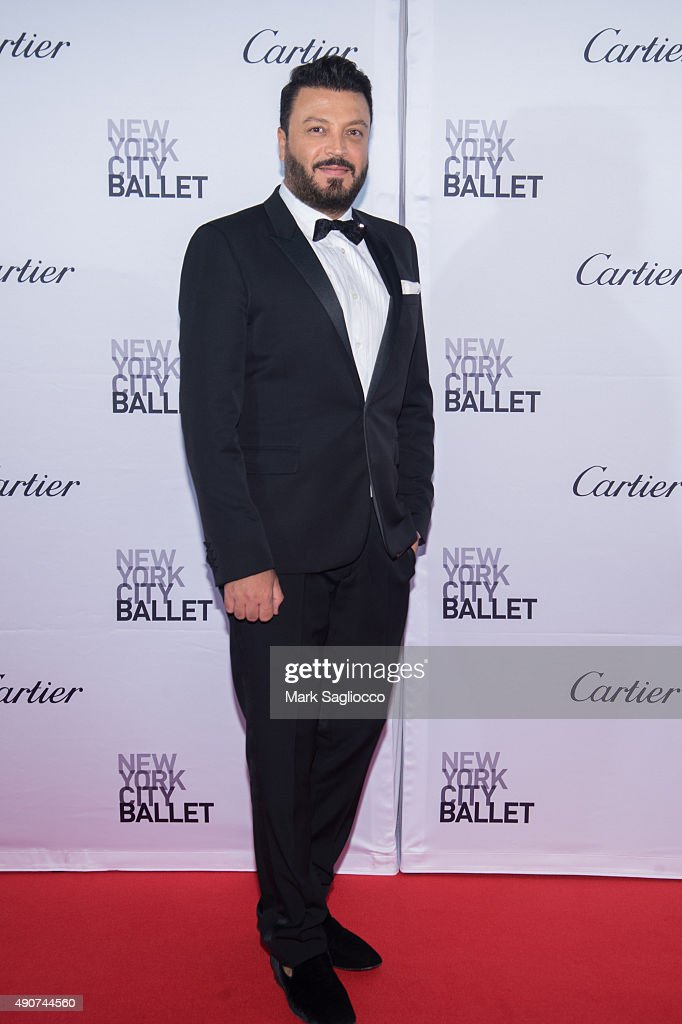 Fashion Designer Zuhair Murad attends the 2015 New York City Ballet Fall Gala at the David H. Koch Theater at Lincoln Center on September 30, 2015 in New York City.
