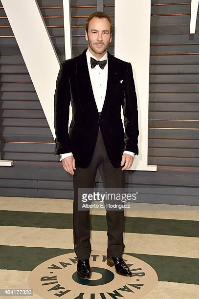 Fashion designer/director Tom Ford attends the 2015 Vanity Fair Oscar Party hosted by Graydon Carter at Wallis Annenberg Center for the Performing...