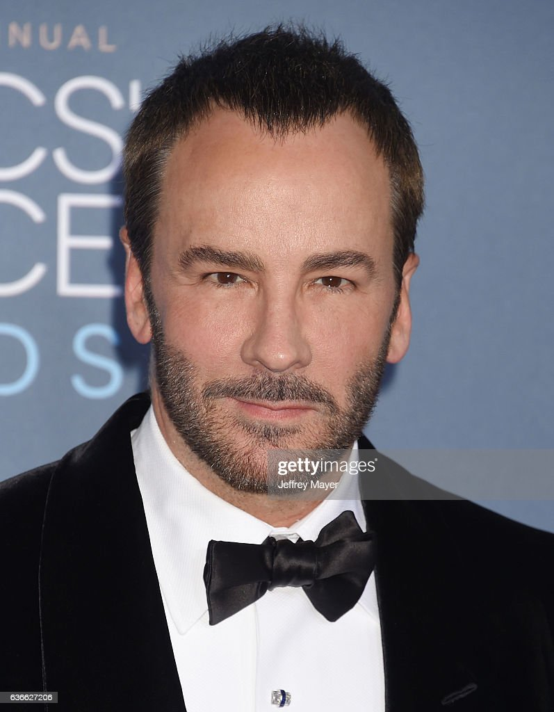 Fashion designer tom ford at the hollywood something or other awards - Fashion Designer Producer Director Tom Ford Arrives At The 22nd Annual Critics Choice