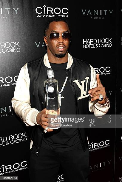 Fashion designer/recording artist Sean 'Diddy' Combs attends the grand opening of the Vanity nightclub hosted by Sean Diddy Combs at the Hard Rock...