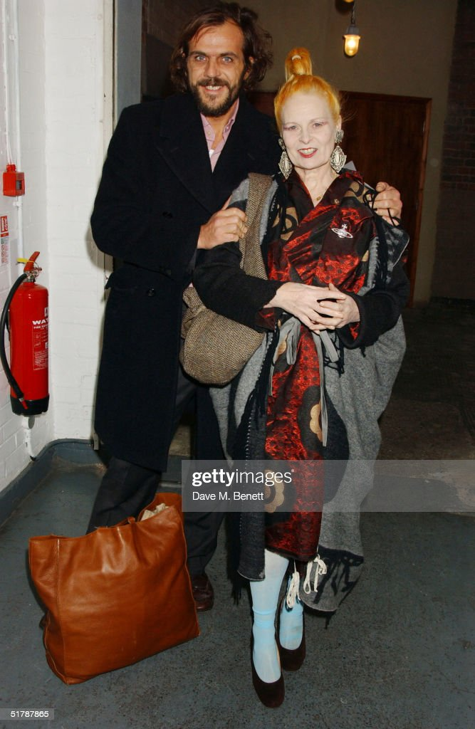 Fashion designers Andreas Kronthaler and wife Vivienne Westwood attend party for men's magazine Arena Homme Plus thrown on behalf of Alexander...