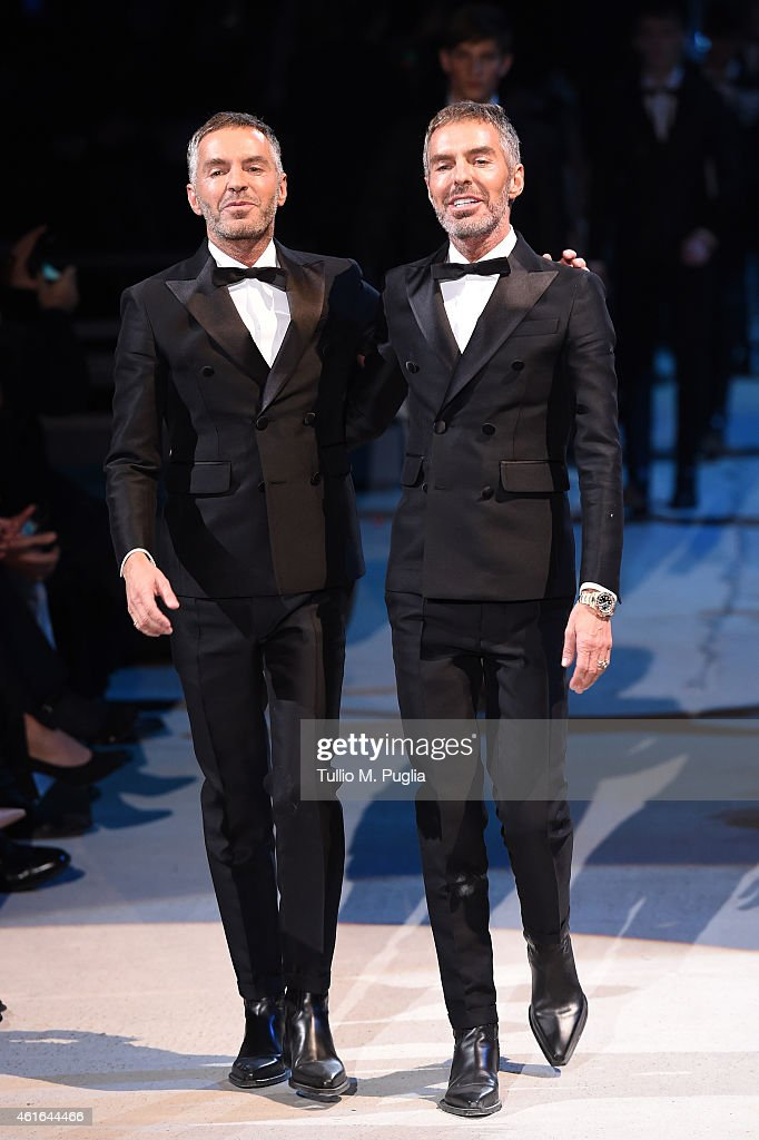 DSQUARED2 - Runway - Milan Menswear Fashion Week Fall Winter 2015/2016