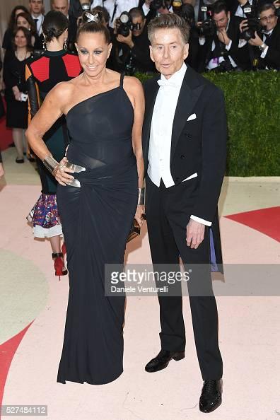 Fashion designers Donna Karan and Calvin Klein attend the 'Manus x Machina Fashion In An Age Of Technology' Costume Institute Gala at Metropolitan...