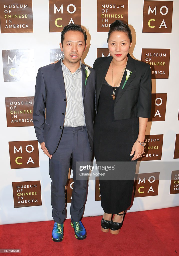 Fashion designers Humberto Leon (L) and Carol Lim (R) attend the Museum of Chinese in America's Annual Legacy awards dinner at Cipriani Wall Street on December 3, 2012 in New York City.