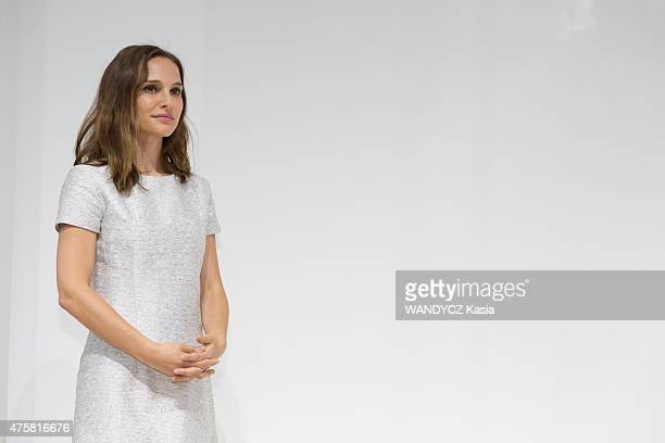 Fashion Designers Prize 2015 at the Foundation Louis Vuitton Natalie Portman in may 22 2015 in Paris France