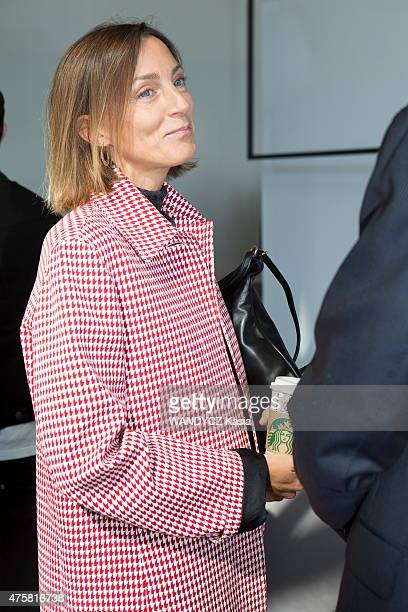 Fashion Designers Prize 2015 at the Foundation Louis Vuitton Phoebe Philo in may 22 2015 in Paris France