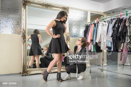 Fashion Designers Working Together In Fashion Studio Stock Photo Getty Images