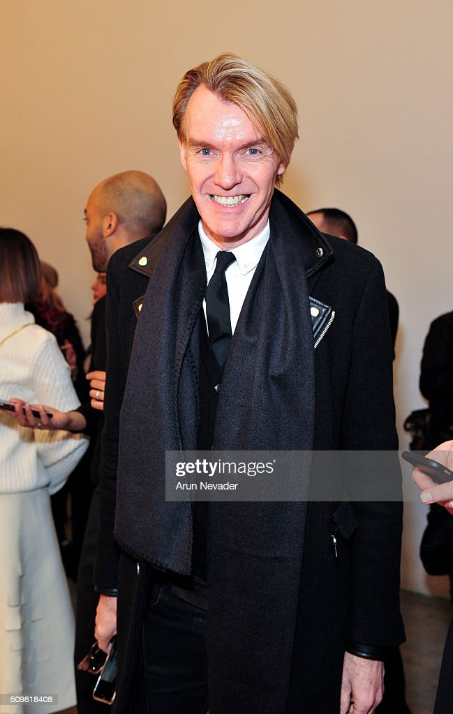Fashion Director Ken Downing attends the Tanya Taylor Presentation at Swiss Institute on February 12, 2016 in New York City.