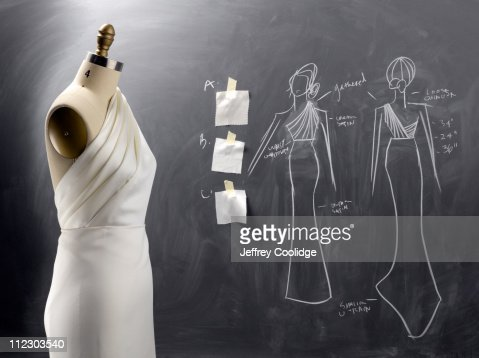 Fashion Drawing and Sewing Form
