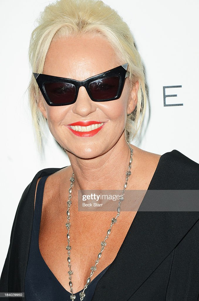 Fashion editor <a gi-track='captionPersonalityLinkClicked' href=/galleries/search?phrase=Amanda+Eliasch&family=editorial&specificpeople=795582 ng-click='$event.stopPropagation()'>Amanda Eliasch</a> arrives at the 2013 Bel-Air Film Festival Red Carpet Gala at Hammer Museum on October 10, 2013 in Westwood, California.