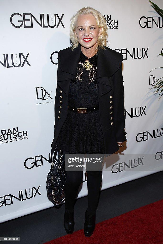 Fashion editor Amanda Eliasch attends the Night Of 'BB Forever: Brigitte Bardot, The Legend' at Sofitel Hotel on February 21, 2012 in Los Angeles, California.