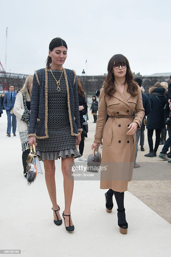 Day 8 Street Style Paris Fashion Week Womenswear Fall Winter 2015 2016 Getty Images