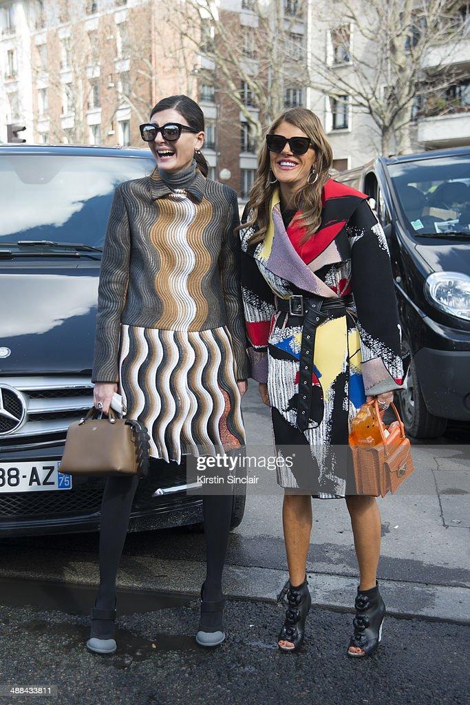 Fashion Editor of L Uomo Vogue Freelance Stylist and Contributing Fashion Editor to W magazine Giovanna Battaglia wears all Celine with Editoratlarge...