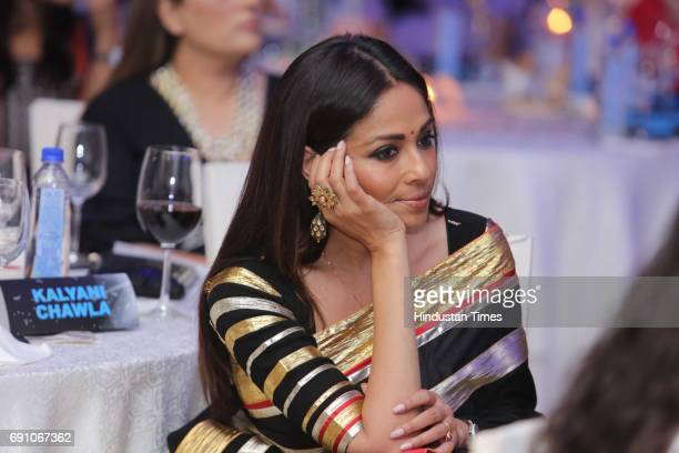 Fashion entrepreneur Kalyani Chawla during the Hindustan Times Game Changer Awards 2017 at Hotel Oberoi on May 24 2017 in Gurgaon India