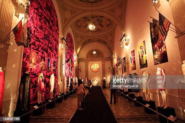 Fashion exhibition at Musee de la Mode et du Costume Palais Galliera.