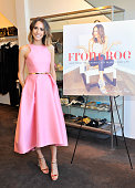 Fashion expert and author Louise Roe attends Louise Roe's Book Launch hosted by Monique Lhiuhllier Cameron Silver And Aimee Song at Decades on April...