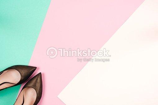 mode weibliche verschiedene schuhe mit hohen abs tzen. Black Bedroom Furniture Sets. Home Design Ideas