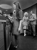 1971 MAR 1971 APR 5 1971 Fashion for Savings Colorado Federal Savings isn't going to have to worry about its employes wearing hot pants to work this...