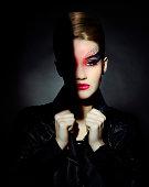 fashion gothic woman