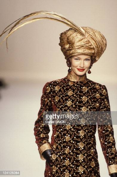 Jean louis scherrer haute couture stock photos and for Couture france