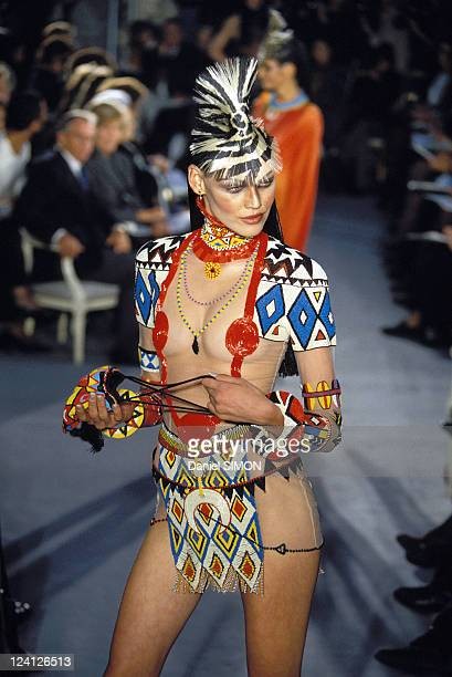 Fashion Haute Couture Spring Summer 97 In Paris France In January 1997 Dior