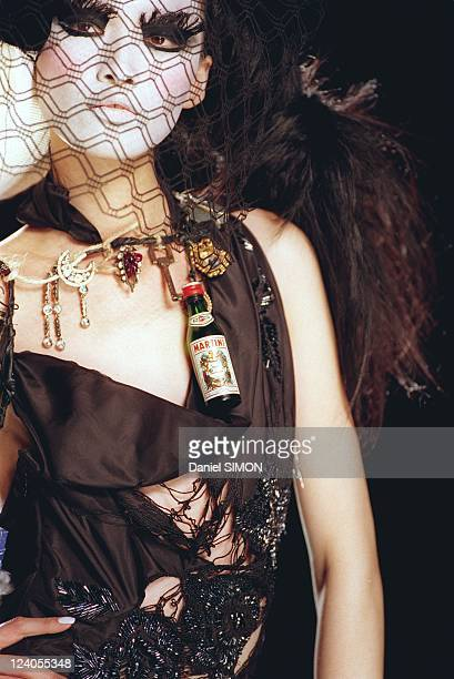 Fashion 'Haute couture' springsummer 2000 in Paris France On January 19 2000 Dior
