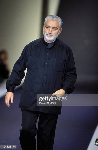 Fashion Haute Couture Spring/Summer 96 in Paris France in January 1996 Paco Rabanne