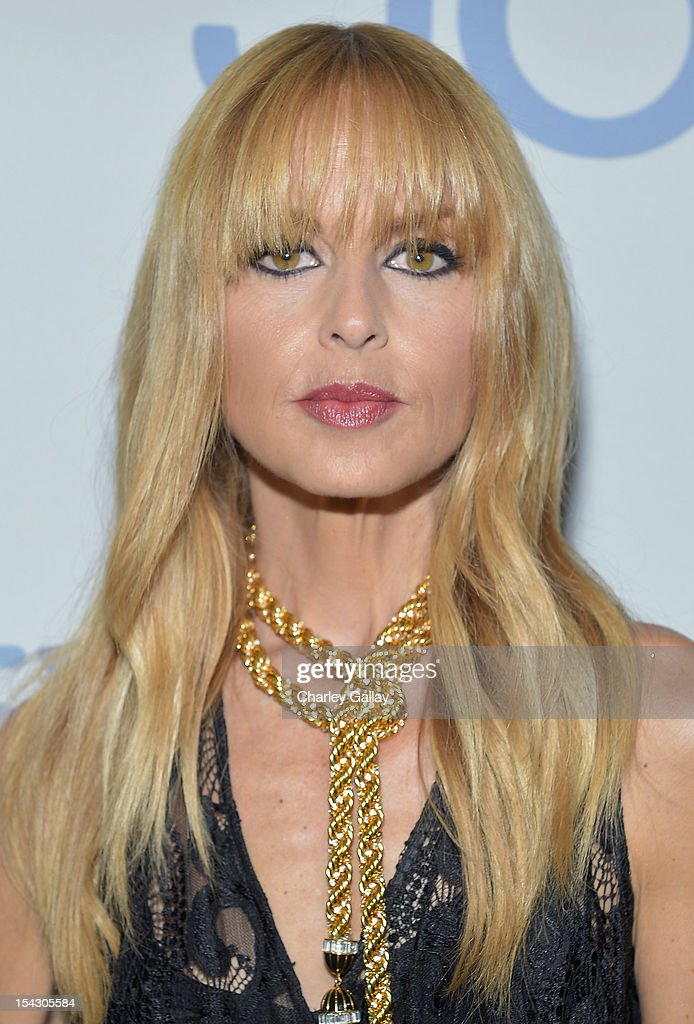 Fashion icon and stylist <a gi-track='captionPersonalityLinkClicked' href=/galleries/search?phrase=Rachel+Zoe+-+Stylist&family=editorial&specificpeople=546501 ng-click='$event.stopPropagation()'>Rachel Zoe</a> celebrate the launch of <a gi-track='captionPersonalityLinkClicked' href=/galleries/search?phrase=Rachel+Zoe+-+Stylist&family=editorial&specificpeople=546501 ng-click='$event.stopPropagation()'>Rachel Zoe</a>Õs ÒMajor Must HavesÓ from Jockey at Sunset Tower on October 17, 2012 in West Hollywood, California.