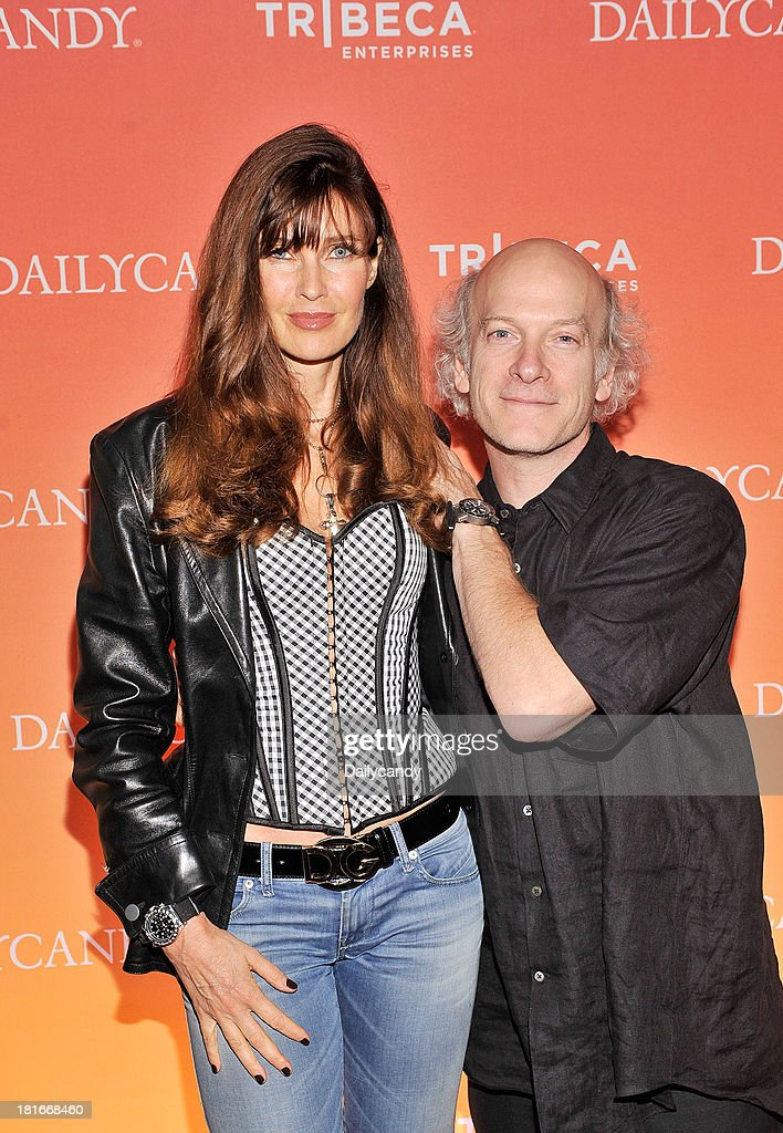 CANDY -- 'Fashion in Film' at Tribeca Cinemas in New York City on Thursday September 19, 2013 -- Pictured: (l-r) Model Carol Alt and filmmaker Timothy Greenfield-Sanders attend 'Fashion in Film,' a first-of-its-kind multi-platform event. --