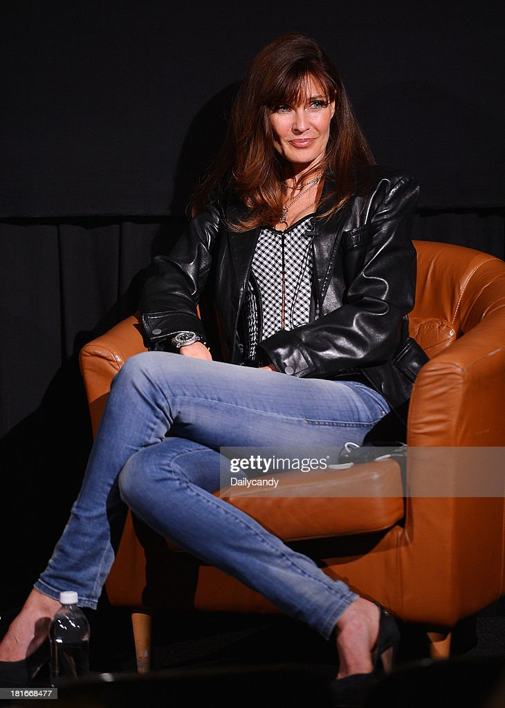 CANDY -- 'Fashion in Film' at Tribeca Cinemas in New York City on Thursday September 19, 2013 -- Pictured: Model Carol Alt participates in a Q&A session at 'Fashion in Film,' a first-of-its-kind multi-platform event. --