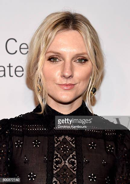 Fashion journalist Laura Brown attends an evening honoring Valentino at Lincoln Center Corporate Fund Black Tie Gala on December 7 2015 in New York...