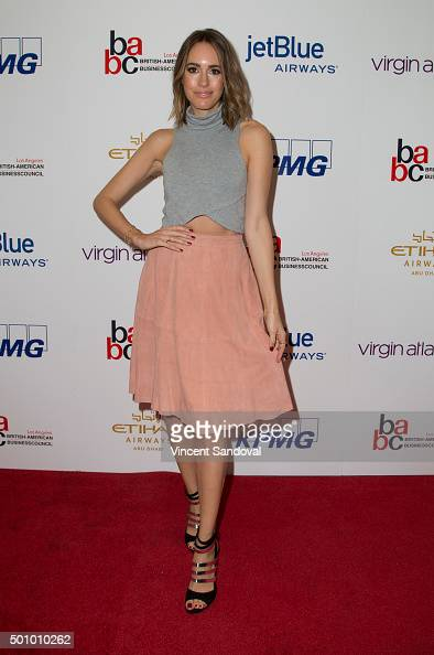 Fashion journalist Louise Roe attends the BABC LA 56th Annual Christmas Luncheon at Fairmont Miramar Hotel on December 11 2015 in Santa Monica...