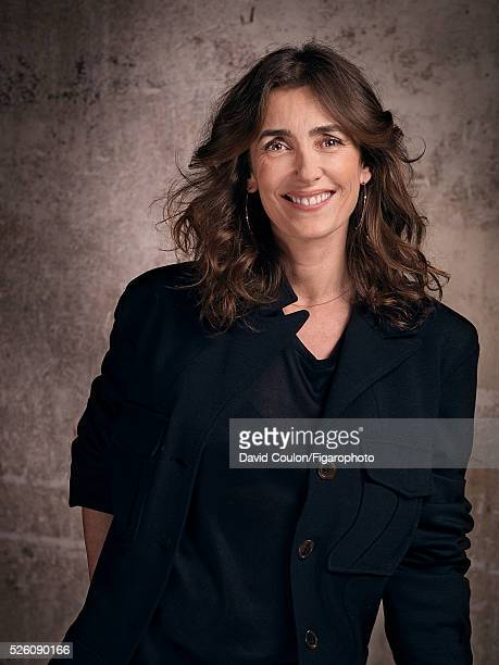 Fashion journalist Mademoiselle Agnes is photographed for Madame Figaro on March 19 2016 in Paris France Jacket earrings PUBLISHED IMAGE CREDIT MUST...