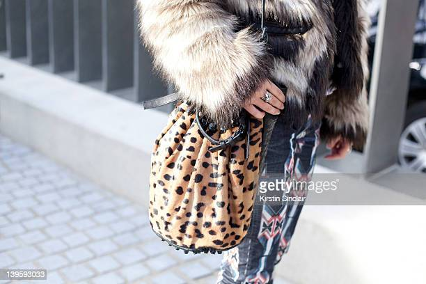 Fashion Journalist Rebecca Tay wearing Isabel Marrant jeans Alexander Wang bag Lanvin for H and M jacket Theyskens Theory t shirt street style at...